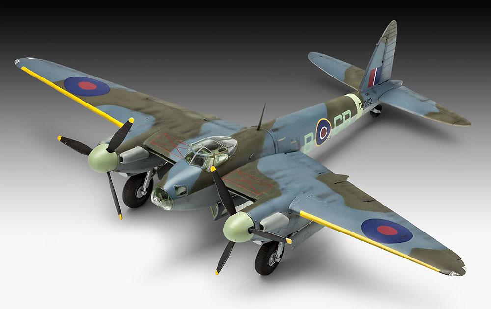 D.H. モスキート Mk.4 爆撃機プラモデル(レベル1/48 飛行機モデルNo.03923)商品画像_2