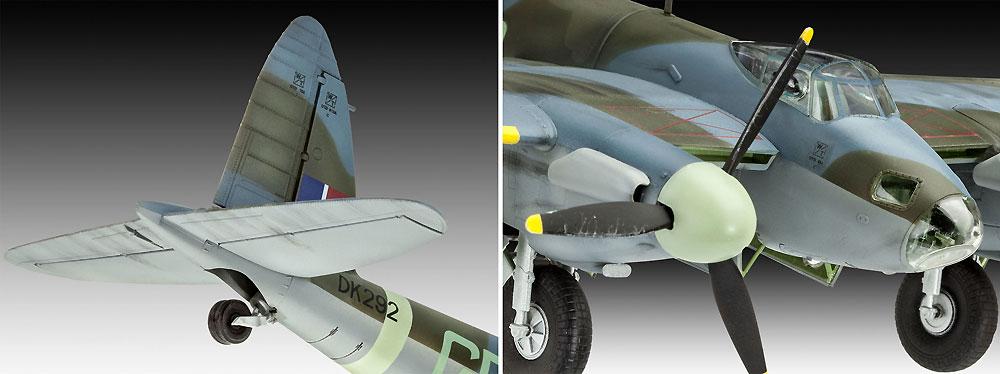 D.H. モスキート Mk.4 爆撃機プラモデル(レベル1/48 飛行機モデルNo.03923)商品画像_3