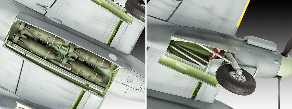 D.H. モスキート Mk.4 爆撃機プラモデル(レベル1/48 飛行機モデルNo.03923)商品画像_4