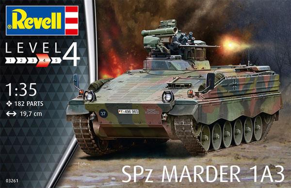 SPz マーダー 1A3プラモデル(レベル1/35 ミリタリーNo.03261)商品画像