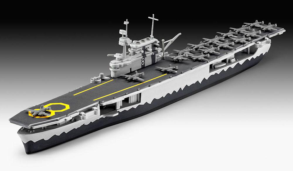 USS ホーネット CV-8プラモデル(レベル1/1200 艦船キットNo.05823)商品画像_2