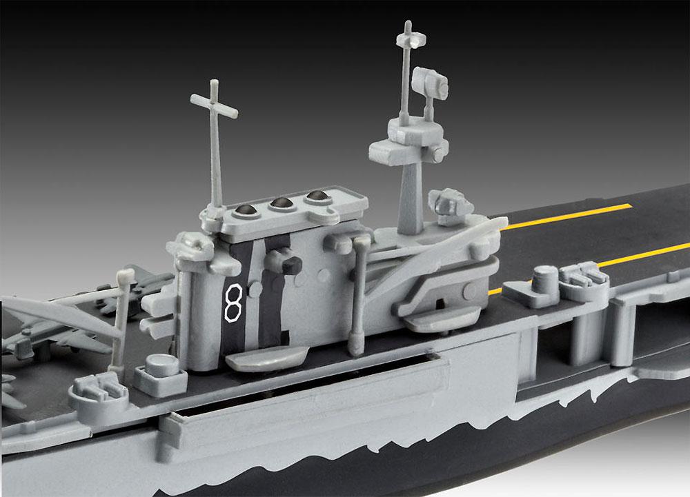 USS ホーネット CV-8プラモデル(レベル1/1200 艦船キットNo.05823)商品画像_3