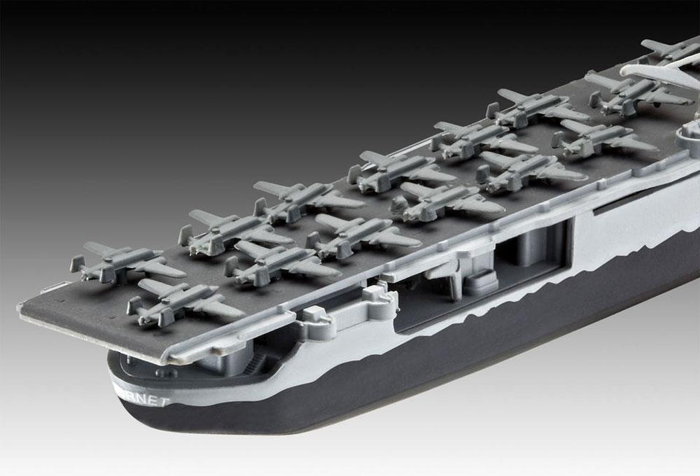 USS ホーネット CV-8プラモデル(レベル1/1200 艦船キットNo.05823)商品画像_4