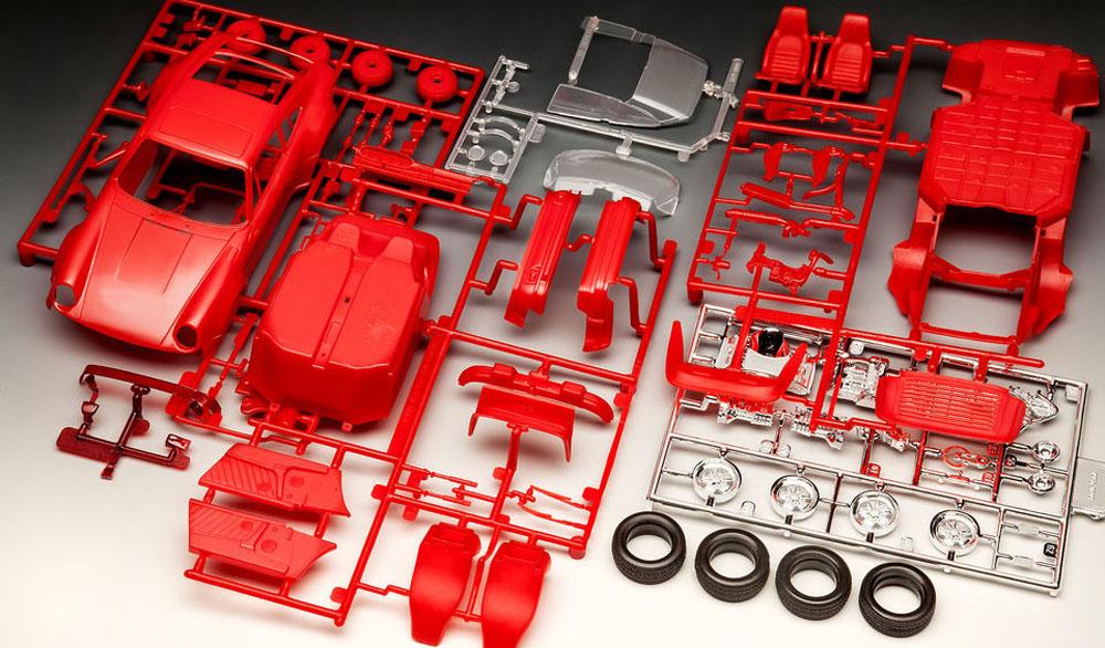 ポルシェ 911ターボプラモデル(レベルカーモデルNo.07179)商品画像_1