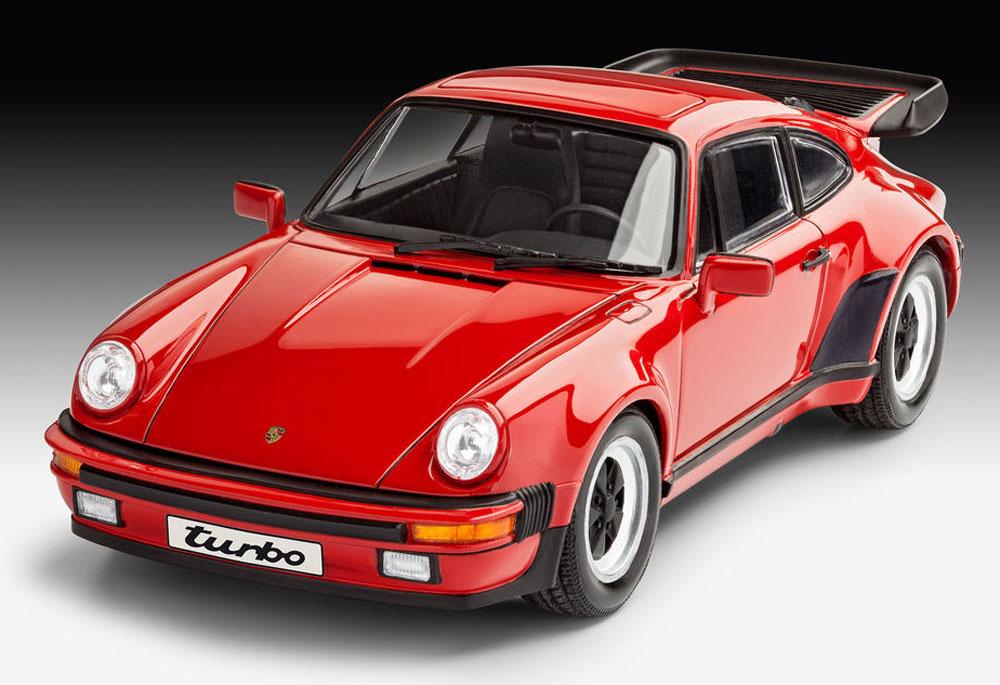 ポルシェ 911ターボプラモデル(レベルカーモデルNo.07179)商品画像_2