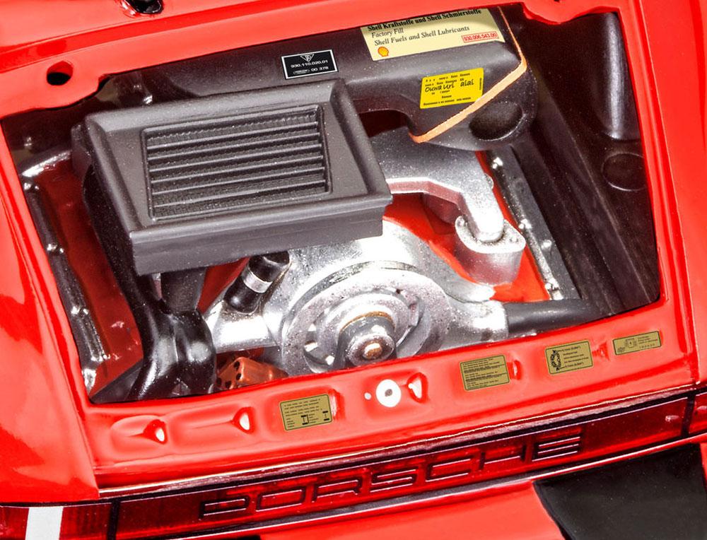 ポルシェ 911ターボプラモデル(レベルカーモデルNo.07179)商品画像_3