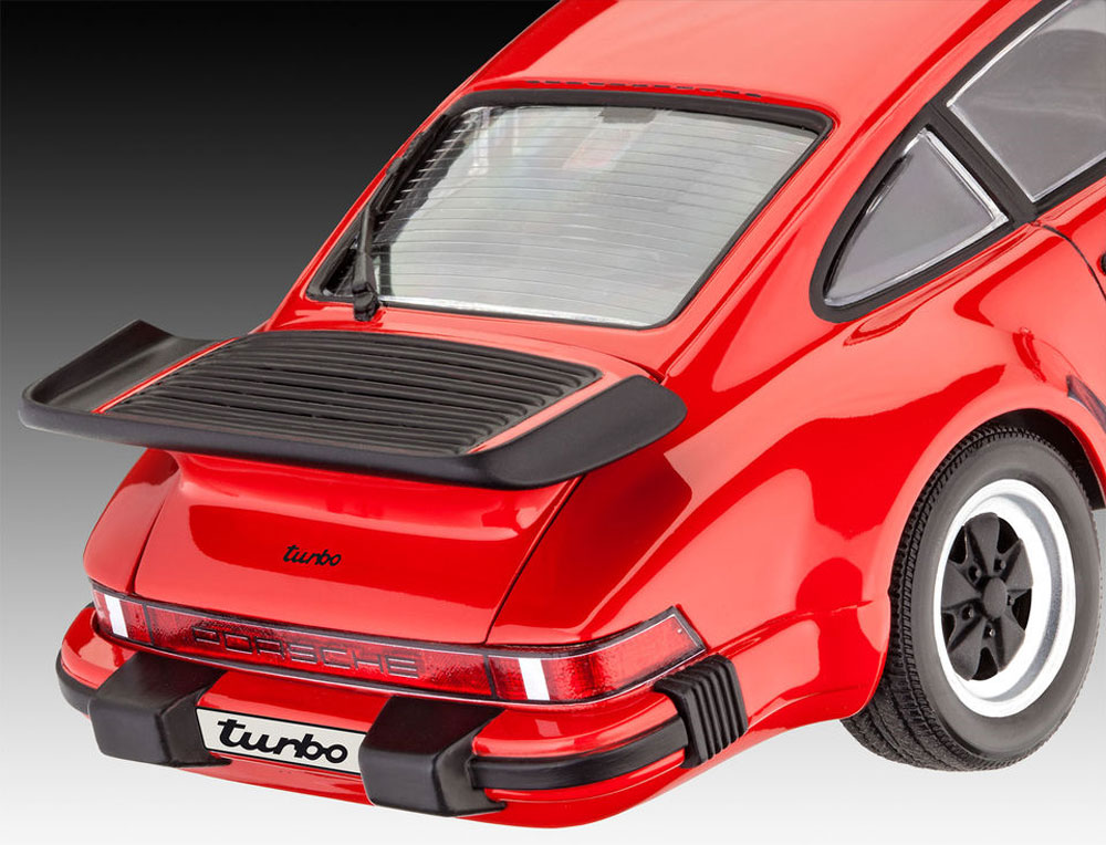ポルシェ 911ターボプラモデル(レベルカーモデルNo.07179)商品画像_4