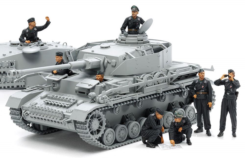 ドイツ国防軍 戦車兵セットプラモデル(タミヤ1/35 ミリタリーミニチュアシリーズNo.354)商品画像_3