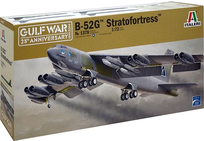 B-52G ストラトフォートレスプラモデル(イタレリ1/72 航空機シリーズNo.1378)商品画像