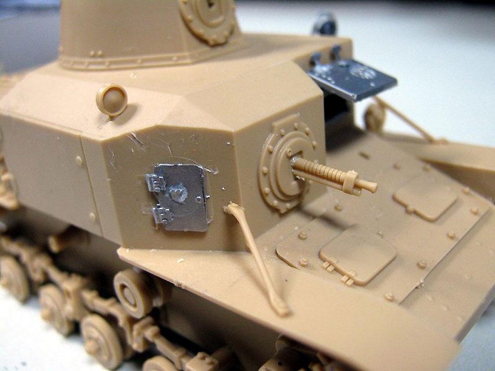 日本陸軍 九二式重装甲車 後期型 (エッチングパーツ付)プラモデル(ピットロード1/35 グランドアーマーシリーズNo.G043E)商品画像_3