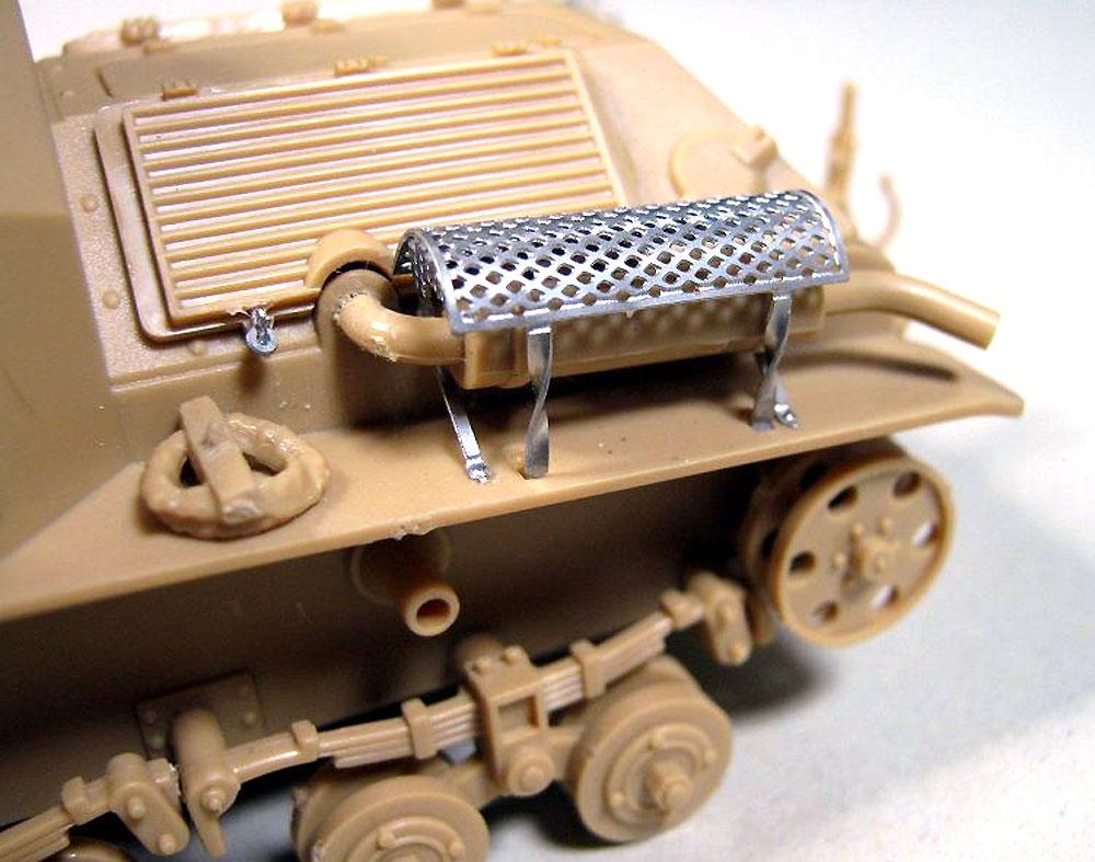 日本陸軍 九二式重装甲車 後期型 (エッチングパーツ付)プラモデル(ピットロード1/35 グランドアーマーシリーズNo.G043E)商品画像_4