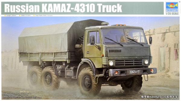 ロシア KAMAZ-4310 トラックプラモデル(トランペッター1/35 AFVシリーズNo.01034)商品画像