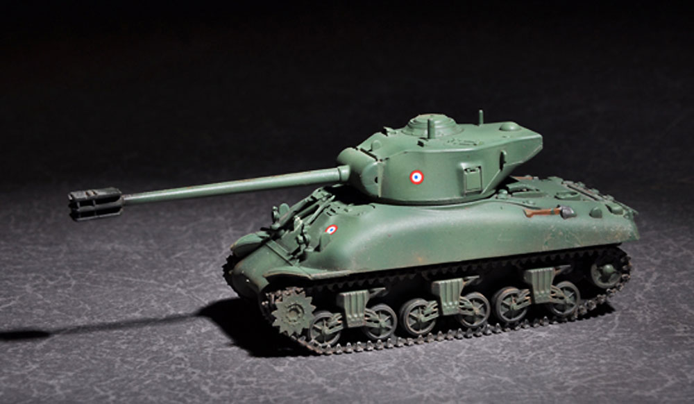 フランス M4中戦車 ルヴァロリゼプラモデル(トランペッター1/72 AFVシリーズNo.07169)商品画像_3