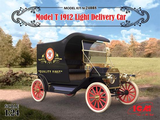 T型フォード 1912 ライトデリバリープラモデル(ICM1/24 カーモデルNo.24008)商品画像
