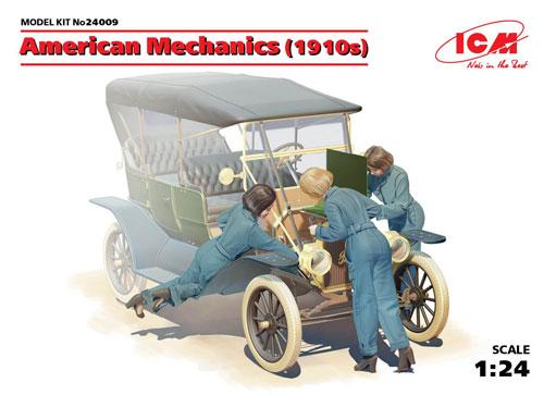 アメリカ 女性整備士 1910プラモデル(ICM1/24 カーモデルNo.24009)商品画像