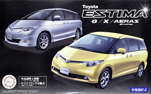 トヨタ エスティマ G/X/アエラス Gパッケージプラモデル(フジミ1/24 インチアップシリーズNo.008)商品画像