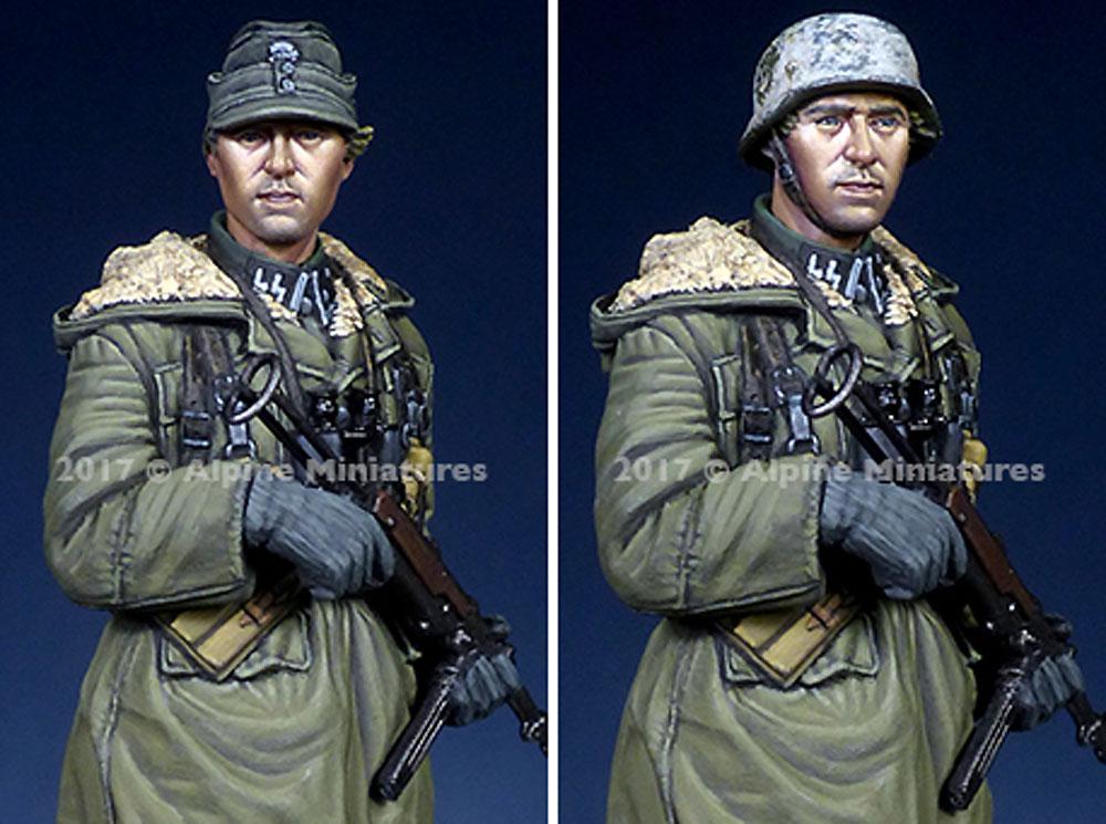 ドイツ 武装親衛隊 下士官 第3次ハリコフ戦レジン(アルパイン1/35 フィギュアNo.AM35235)商品画像_2