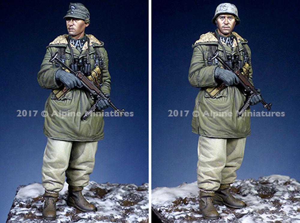 ドイツ 武装親衛隊 下士官 第3次ハリコフ戦レジン(アルパイン1/35 フィギュアNo.AM35235)商品画像_3