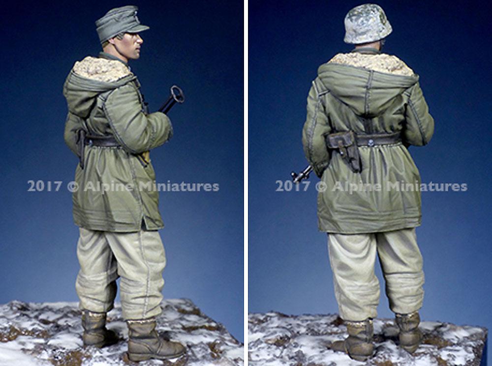 ドイツ 武装親衛隊 下士官 第3次ハリコフ戦レジン(アルパイン1/35 フィギュアNo.AM35235)商品画像_4