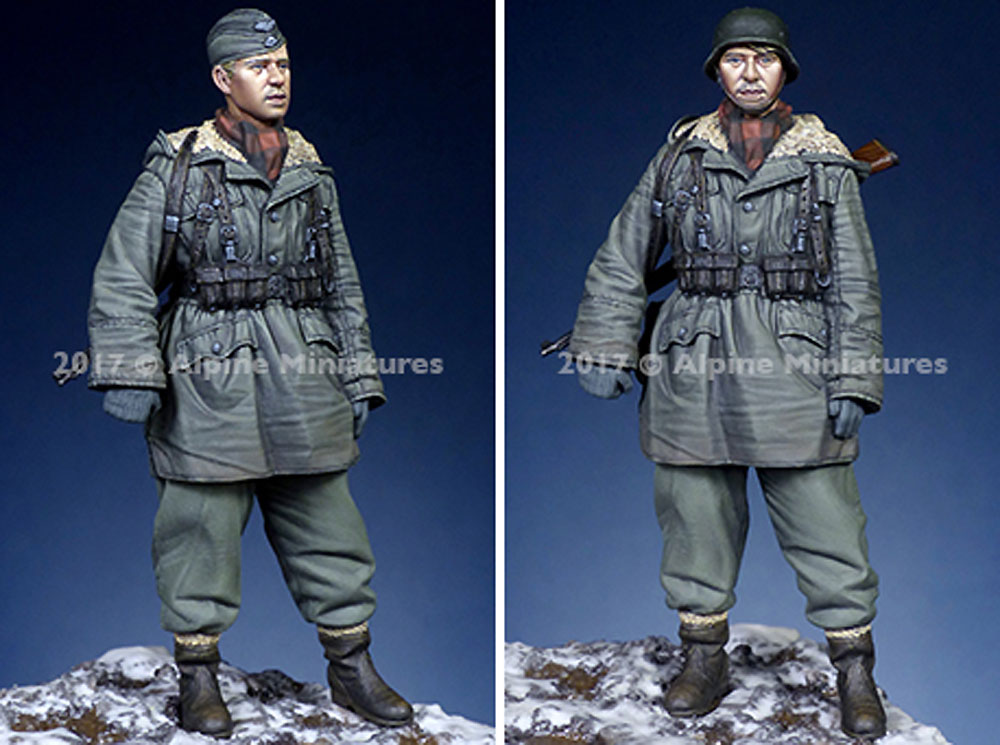 ドイツ 武装親衛隊 擲弾兵 第3次ハリコフ戦レジン(アルパイン1/35 フィギュアNo.AM35236)商品画像_3