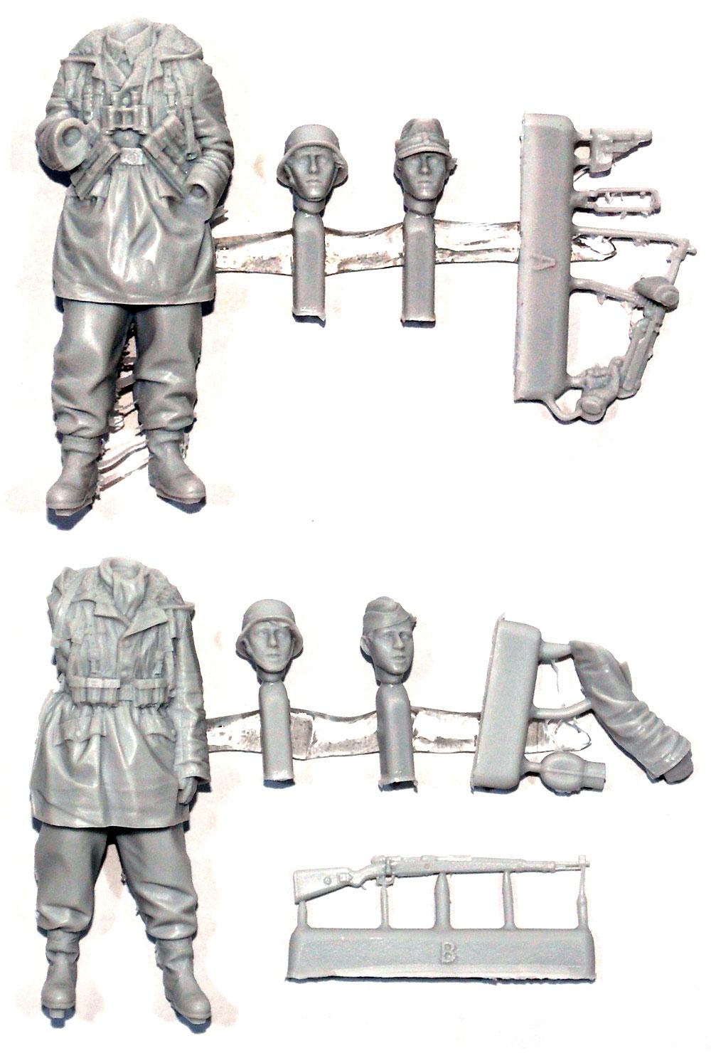 ドイツ 武装親衛隊 第3次ハリコフ戦 (2体セット)レジン(アルパイン1/35 フィギュアNo.AM35237)商品画像_1