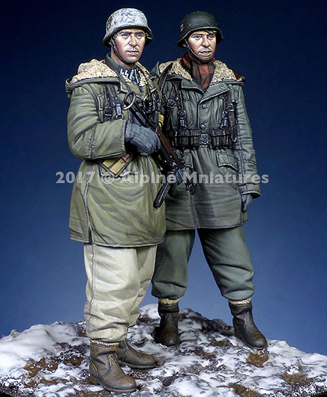 ドイツ 武装親衛隊 第3次ハリコフ戦 (2体セット)レジン(アルパイン1/35 フィギュアNo.AM35237)商品画像_2