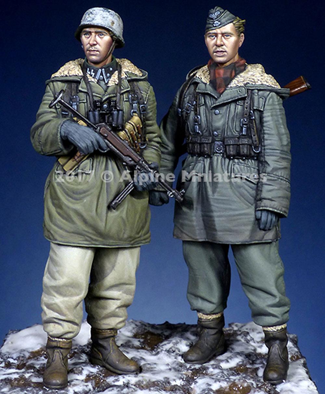 ドイツ 武装親衛隊 第3次ハリコフ戦 (2体セット)レジン(アルパイン1/35 フィギュアNo.AM35237)商品画像_3
