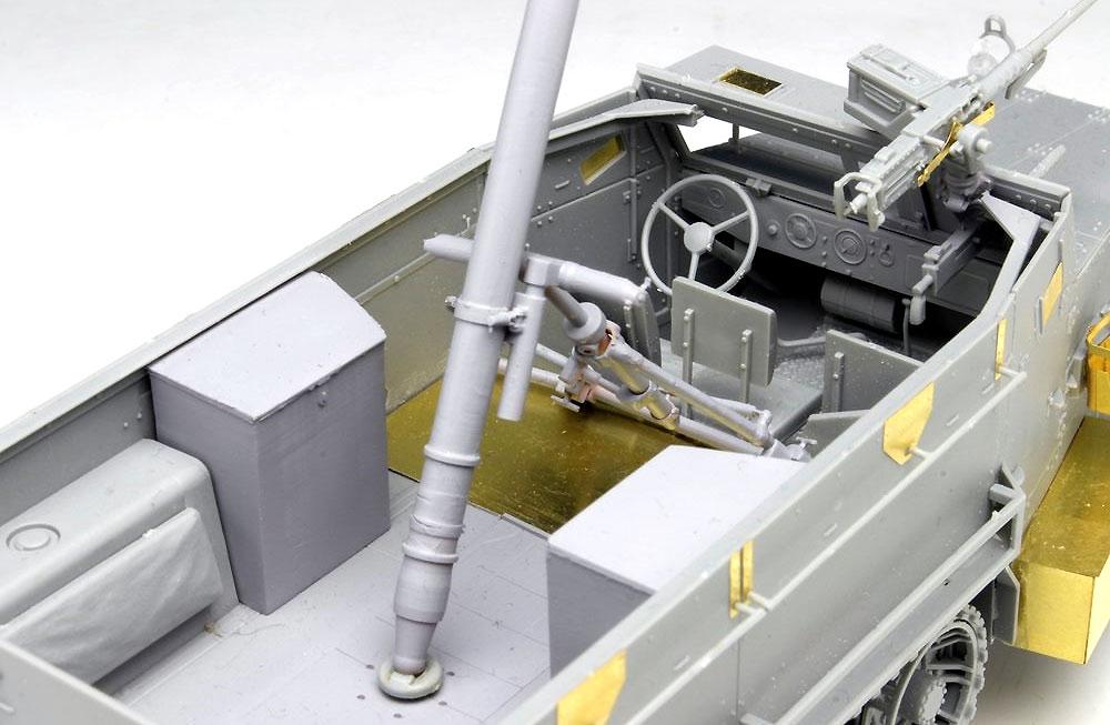 IDF M3ハーフトラック 迫撃砲搭載型プラモデル(ドラゴン1/35 MIDDLE EAST WAR SERIESNo.3597)商品画像_4