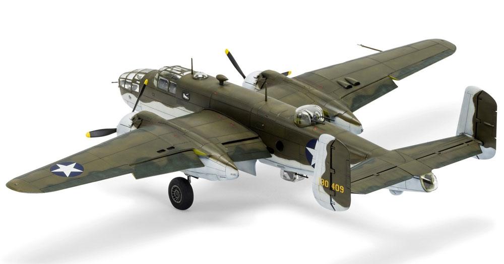 ノースアメリカン B-25C/D ミッチェルプラモデル(エアフィックス1/72 ミリタリーエアクラフトNo.A06015)商品画像_2