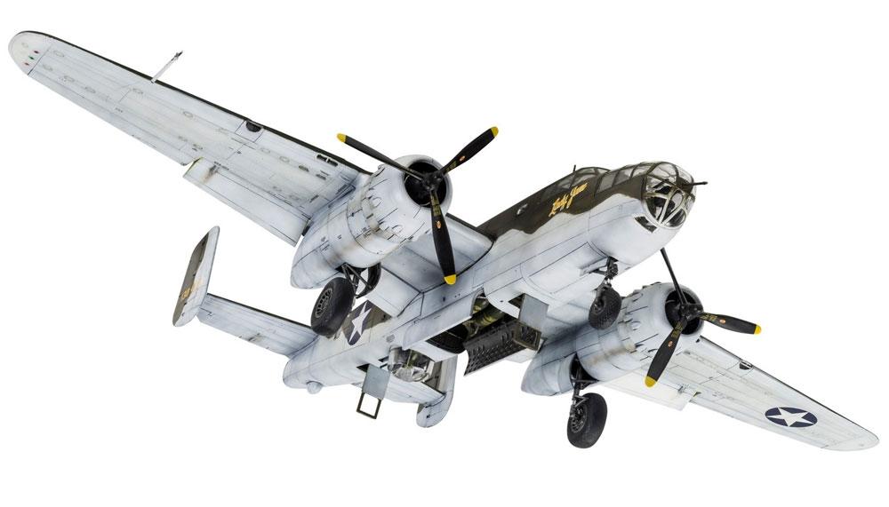 ノースアメリカン B-25C/D ミッチェルプラモデル(エアフィックス1/72 ミリタリーエアクラフトNo.A06015)商品画像_3