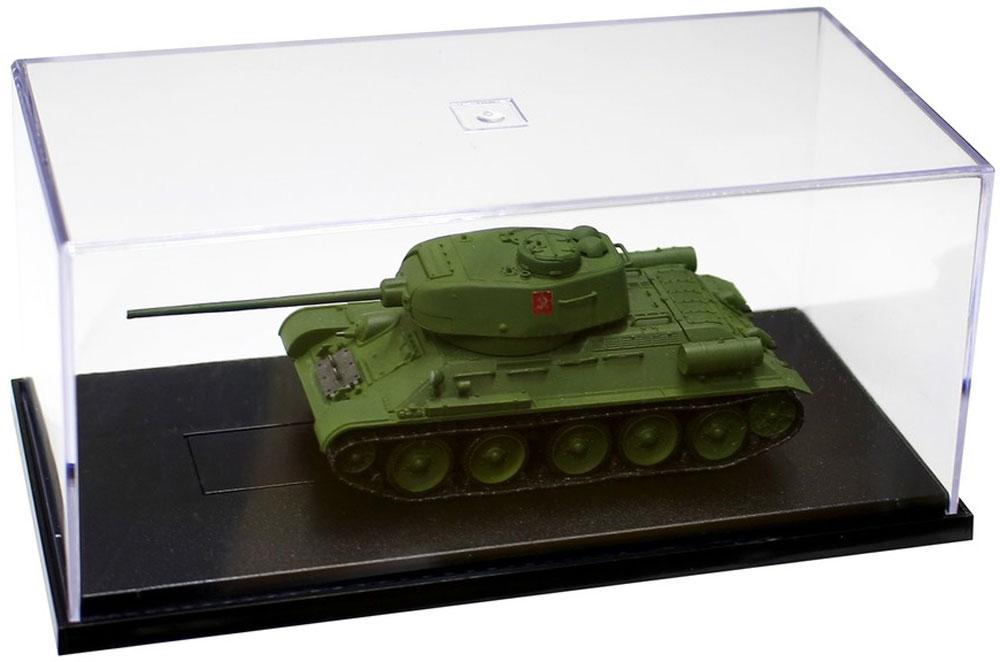 T-34/85 プラウダ高校 エキシビションマッチ時完成品(プラッツてのひら戦車道コレクションNo.GPC72-006)商品画像_1