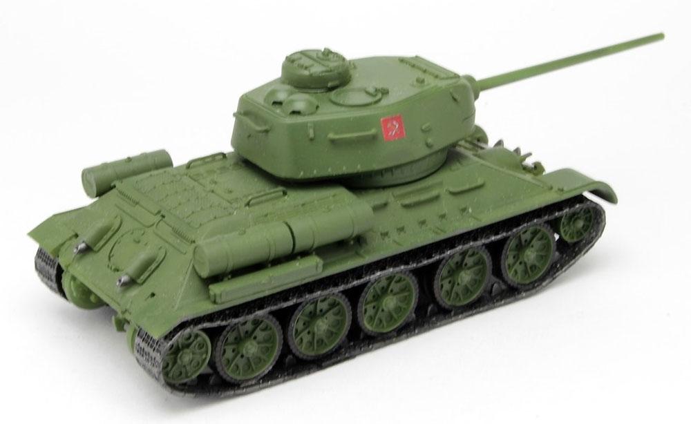 T-34/85 プラウダ高校 エキシビションマッチ時完成品(プラッツてのひら戦車道コレクションNo.GPC72-006)商品画像_3