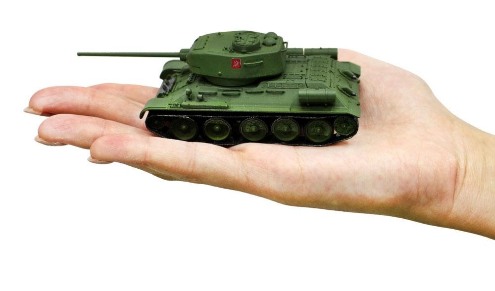 T-34/85 プラウダ高校 エキシビションマッチ時完成品(プラッツてのひら戦車道コレクションNo.GPC72-006)商品画像_4