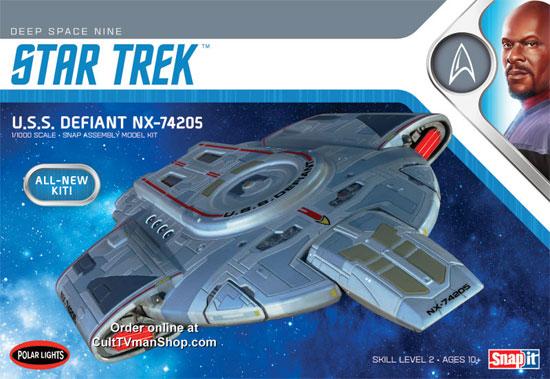 U.S.S. ディファイアント NX-74205プラモデル(ポーラライツスタートレック (STAR TREK)No.POL952/12)商品画像