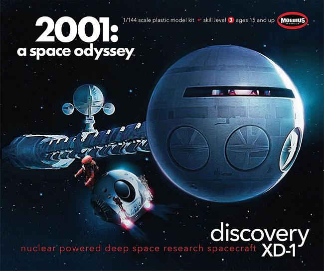 ディスカバリー号 (2001年 宇宙の旅)プラモデル(メビウススペース ビークルNo.2001-3)商品画像