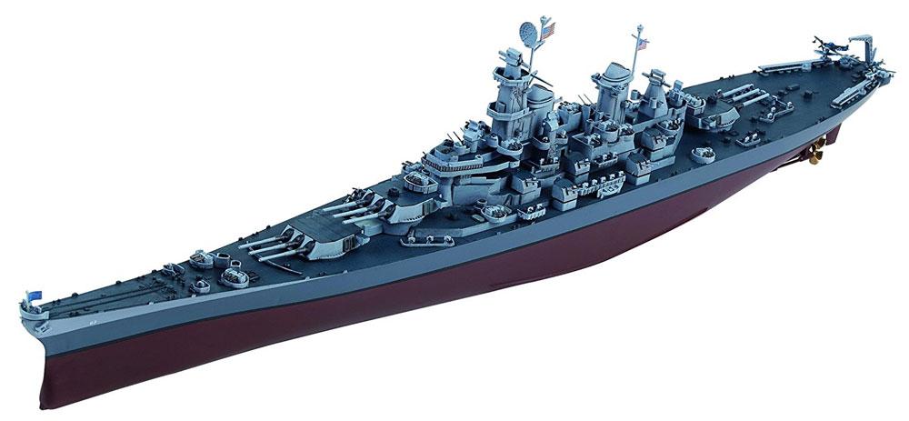 アメリカ海軍 戦艦 ミズーリ BB-63プラモデル(童友社凄! プラモデルNo.021)商品画像_2