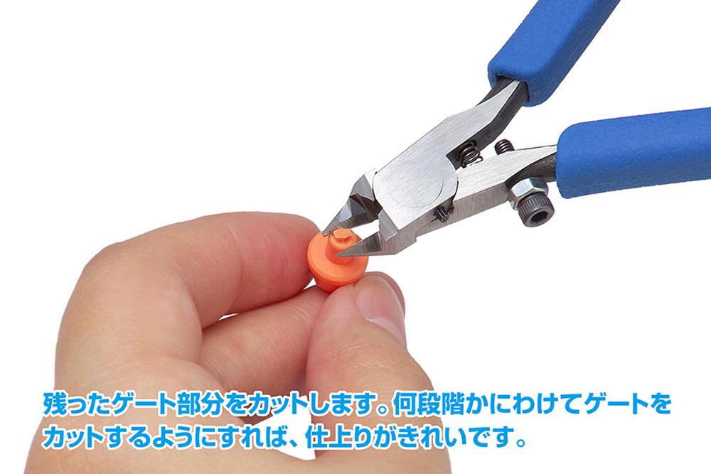 HG ファインニッパー SP (ゲートカット用)ニッパー(ウェーブホビーツールシリーズNo.HT-399)商品画像_4