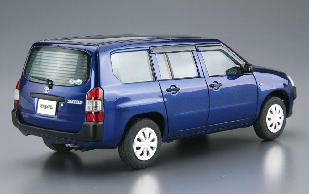 トヨタ NCP160V サクシード '14プラモデル(アオシマ1/24 ザ・モデルカーNo.4905083051443)商品画像_3
