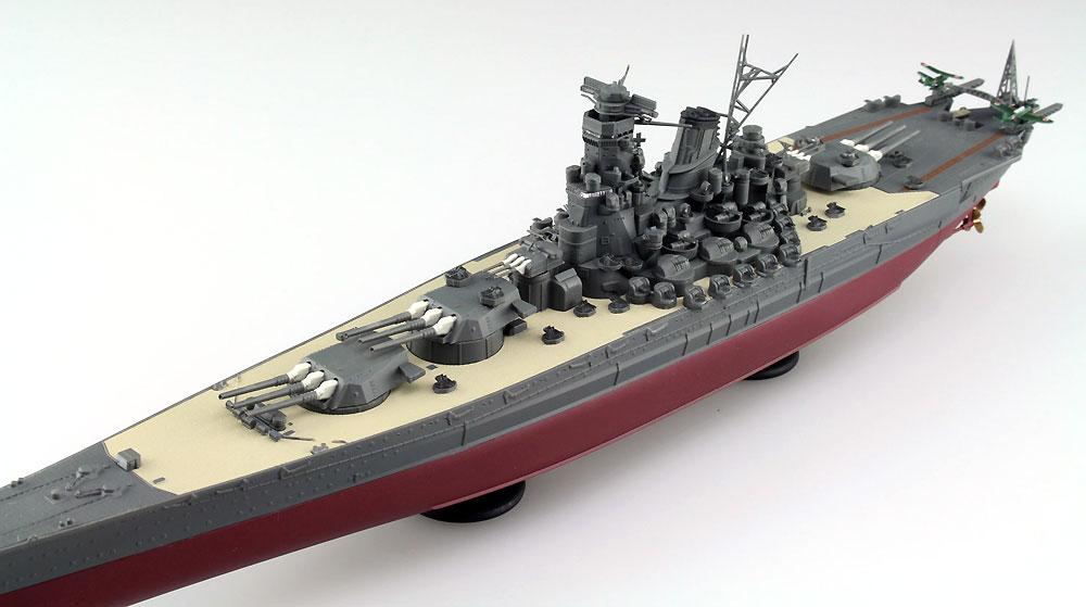 日本海軍 戦艦 大和プラモデル(アオシマ1/700 艦船 (フルハルモデル) シリーズNo.4905083052631)商品画像_2