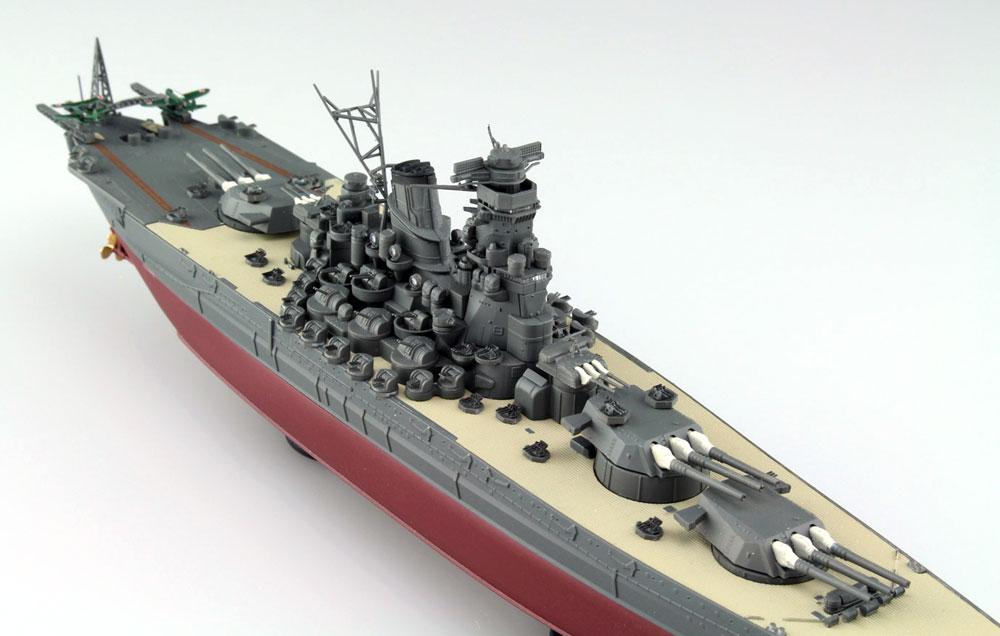 日本海軍 戦艦 大和プラモデル(アオシマ1/700 艦船 (フルハルモデル) シリーズNo.4905083052631)商品画像_3