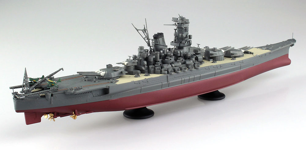 日本海軍 戦艦 大和プラモデル(アオシマ1/700 艦船 (フルハルモデル) シリーズNo.4905083052631)商品画像_4