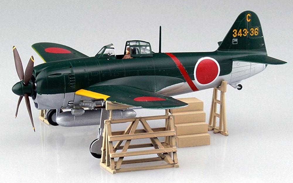 紫電 11型甲 第343航空隊戦闘 剣プラモデル(アオシマ1/72 エース列伝No.010)商品画像_2