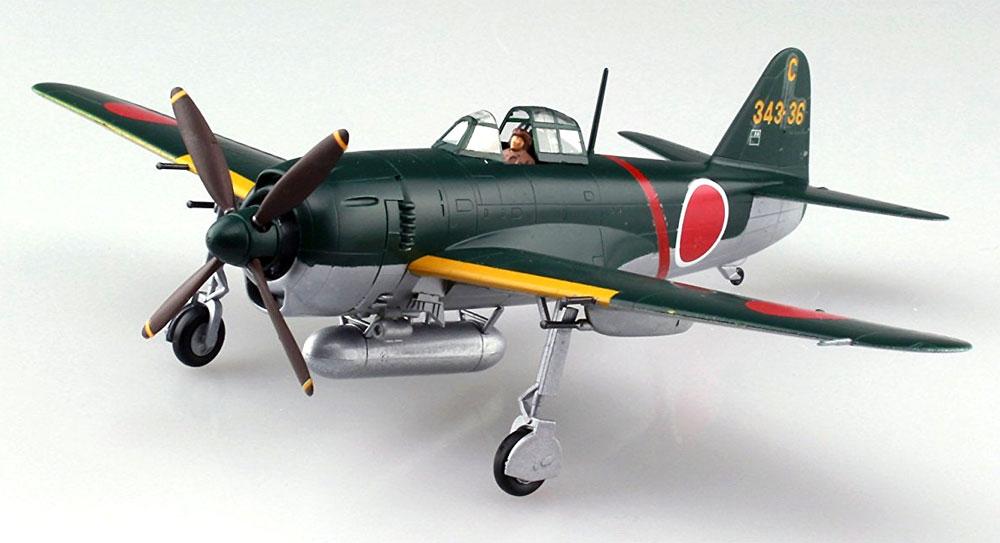 紫電 11型甲 第343航空隊戦闘 剣プラモデル(アオシマ1/72 エース列伝No.010)商品画像_3