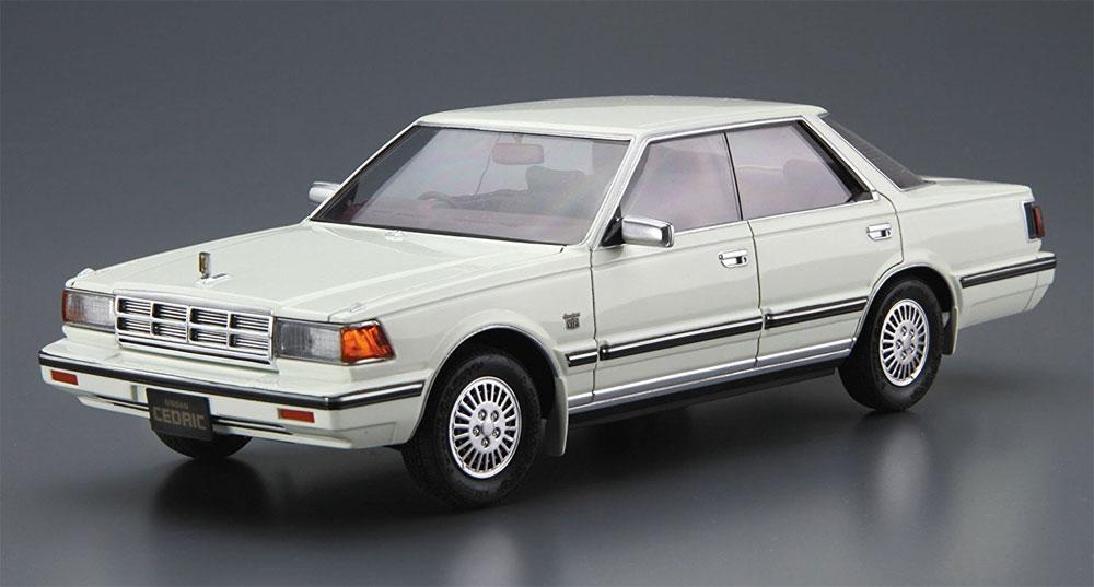 ニッサン Y30 セドリック / グロリア 4HT V30E ブロアム VIP '83プラモデル(アオシマ1/24 ザ・モデルカーNo.058)商品画像_2