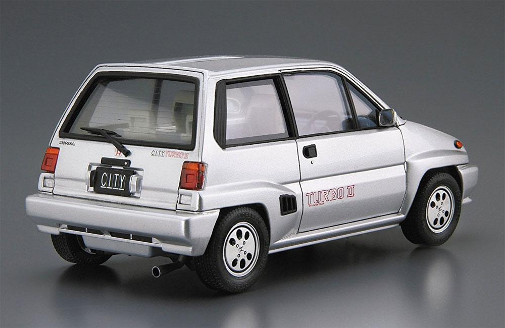 ホンダ AA シティ ターボ 2 '85プラモデル(アオシマ1/24 ザ・モデルカーNo.060)商品画像_3