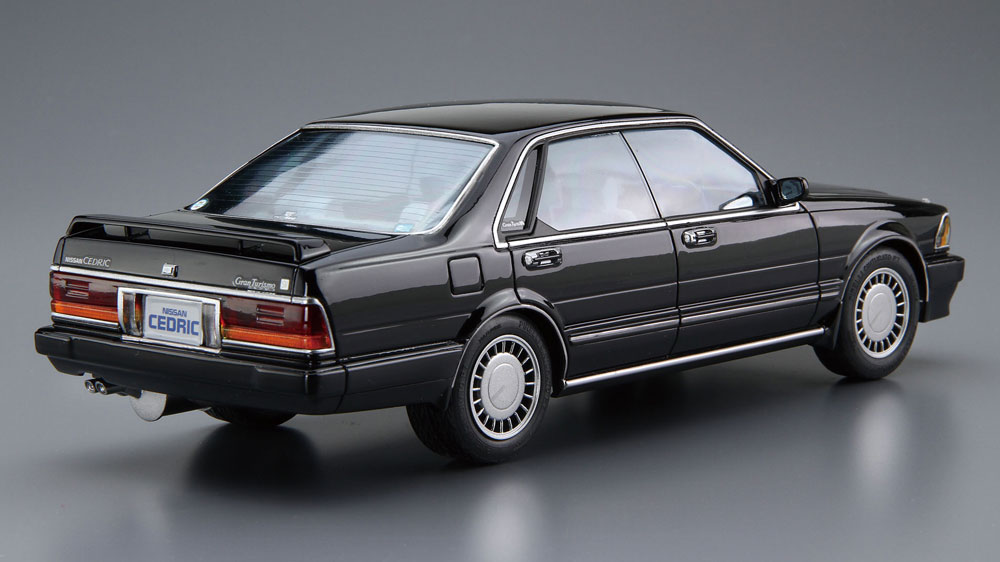 ニッサン Y31 セドリック/グロリア V20 ツインカムターボ グランツーリスモ SV '87プラモデル(アオシマ1/24 ザ・モデルカーNo.旧062)商品画像_3