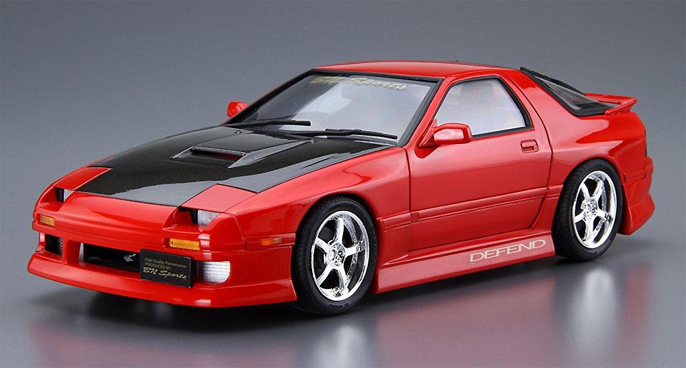 BNスポーツ FC3S RX-7 '89 (マツダ)プラモデル(アオシマ1/24 ザ・チューンドカーNo.旧040)商品画像_2