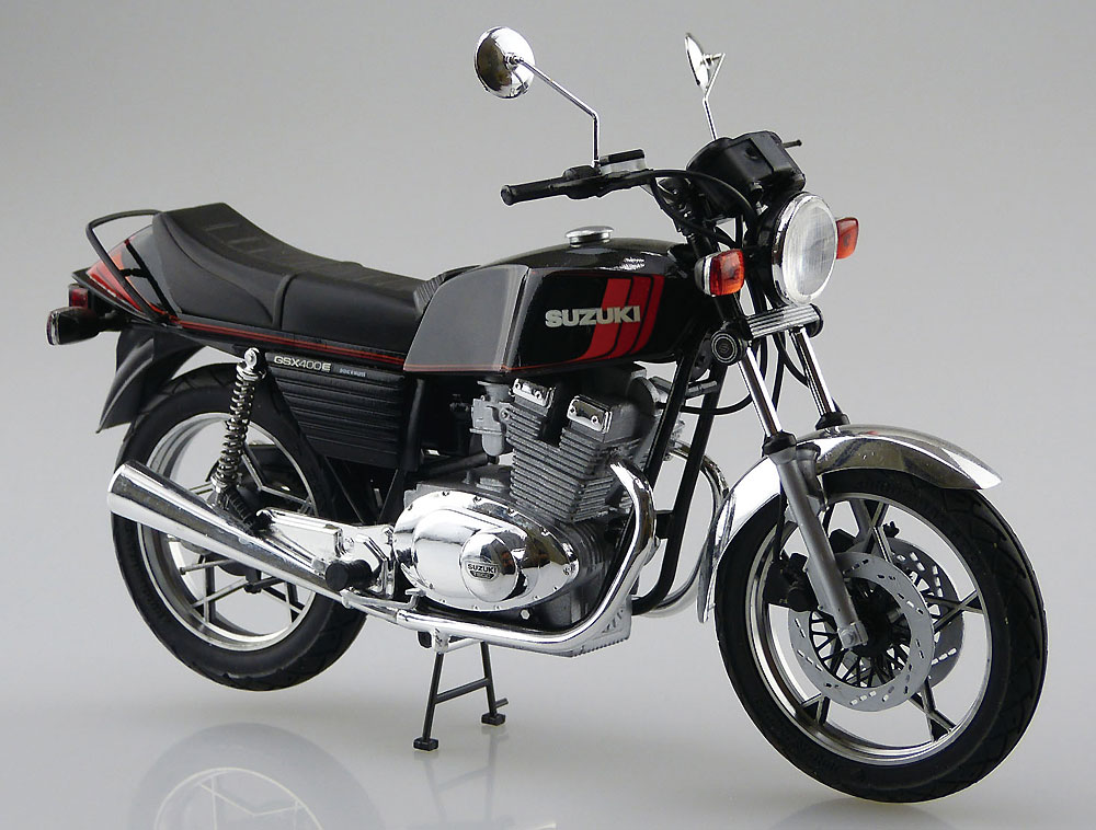 スズキ GSX400E2 1981プラモデル(アオシマ1/12 バイクNo.052)商品画像_2