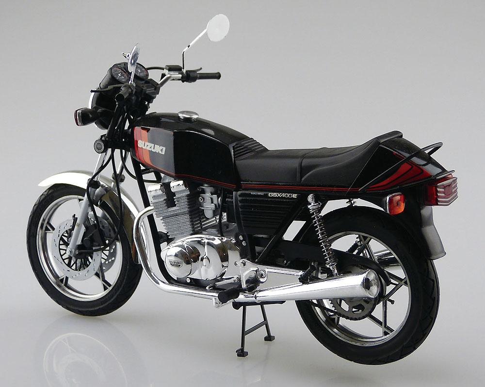 スズキ GSX400E2 1981プラモデル(アオシマ1/12 バイクNo.052)商品画像_3