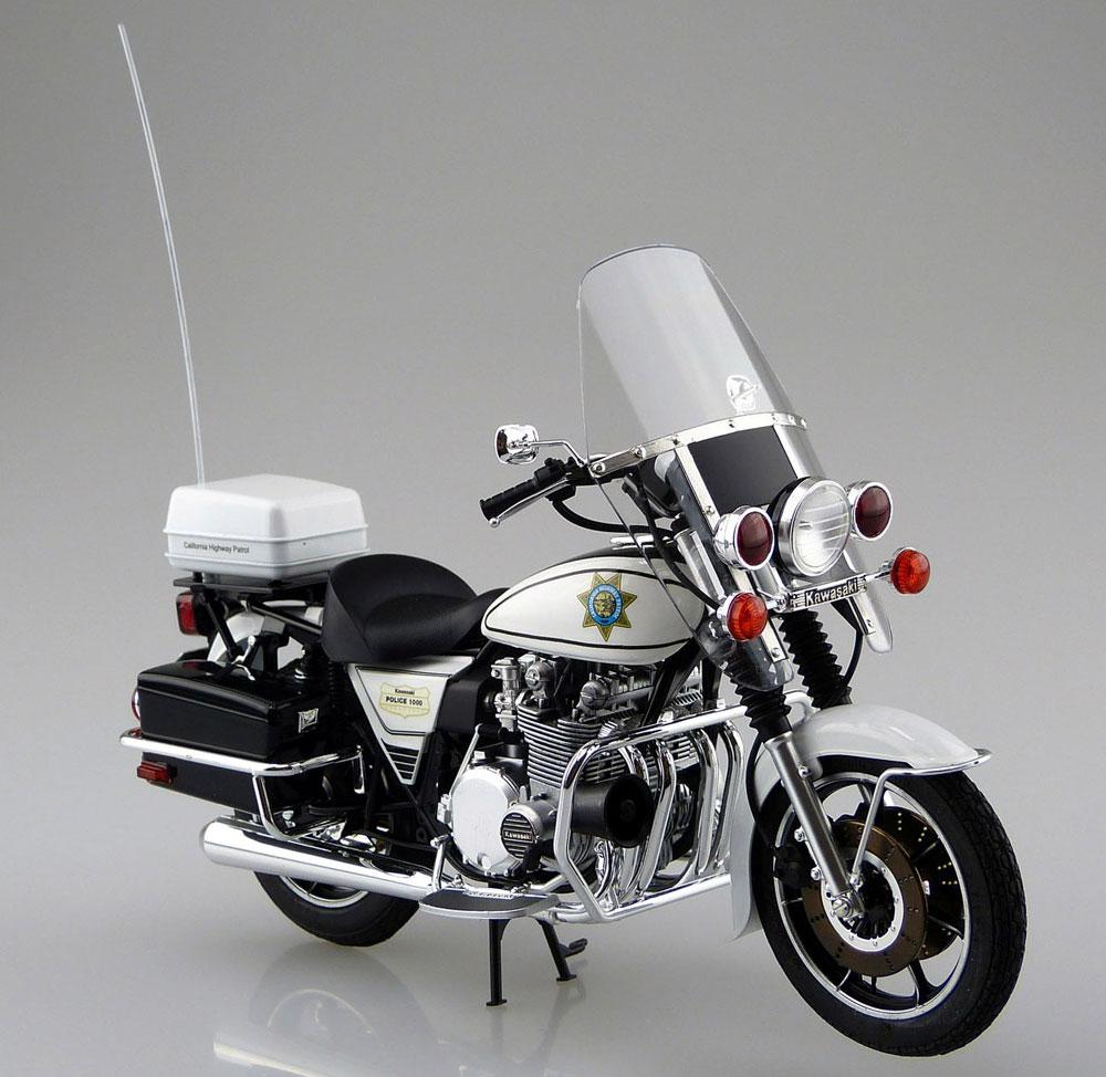 カワサキ KZ1000 ポリスプラモデル(アオシマ1/12 バイクNo.054)商品画像_2